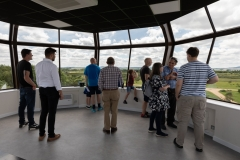 "June 2018: After The Tower's ""soft opening"" we had lots of visitors"