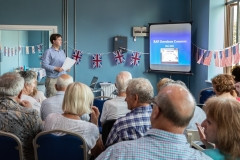 "28th June 2018 - GCTL Director gave a talk on the subject of ""RAF Greenham Common 1941-1992"" to another packed house."