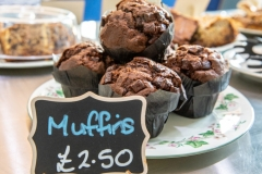 June 2018 – Tempting treats in the cafe for our visitors